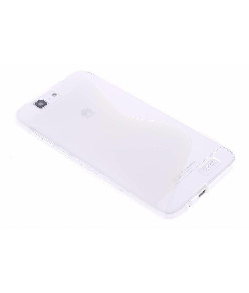 Transparant S-line TPU hoesje Huawei Ascend G7