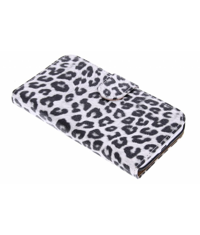Luipaard booktype hoes Samsung Galaxy Core Prime