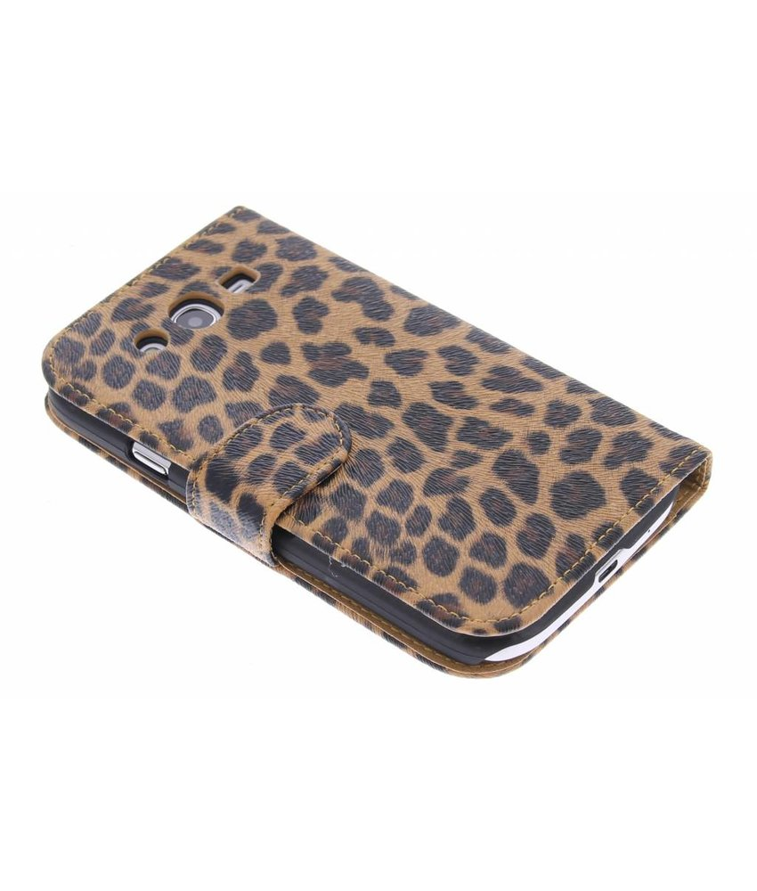Luipaard booktype hoes Samsung Galaxy Grand (Neo)