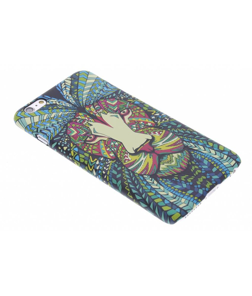Aztec animal design hardcase hoesje iPhone 6(s) Plus