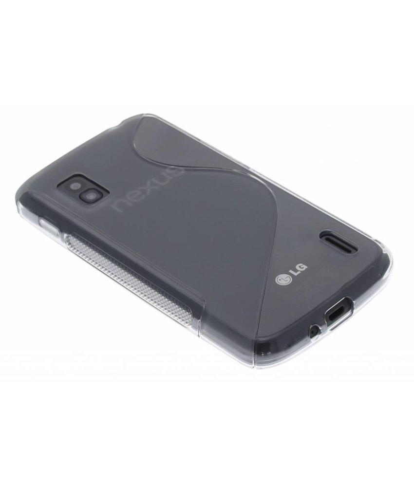 Grijs S-line TPU hoesje LG Nexus 4