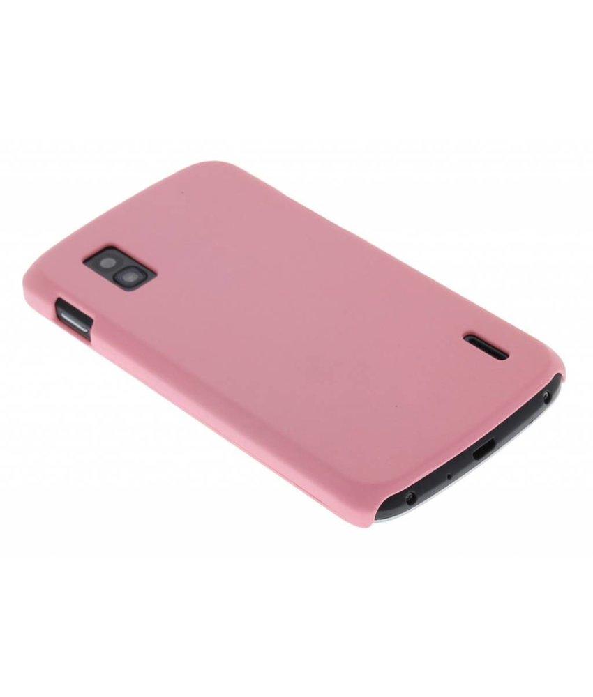 Roze effen hardcase LG Nexus 4