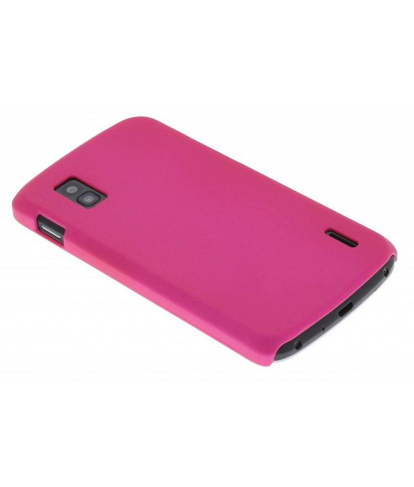 Fuchsia effen hardcase LG Nexus 4