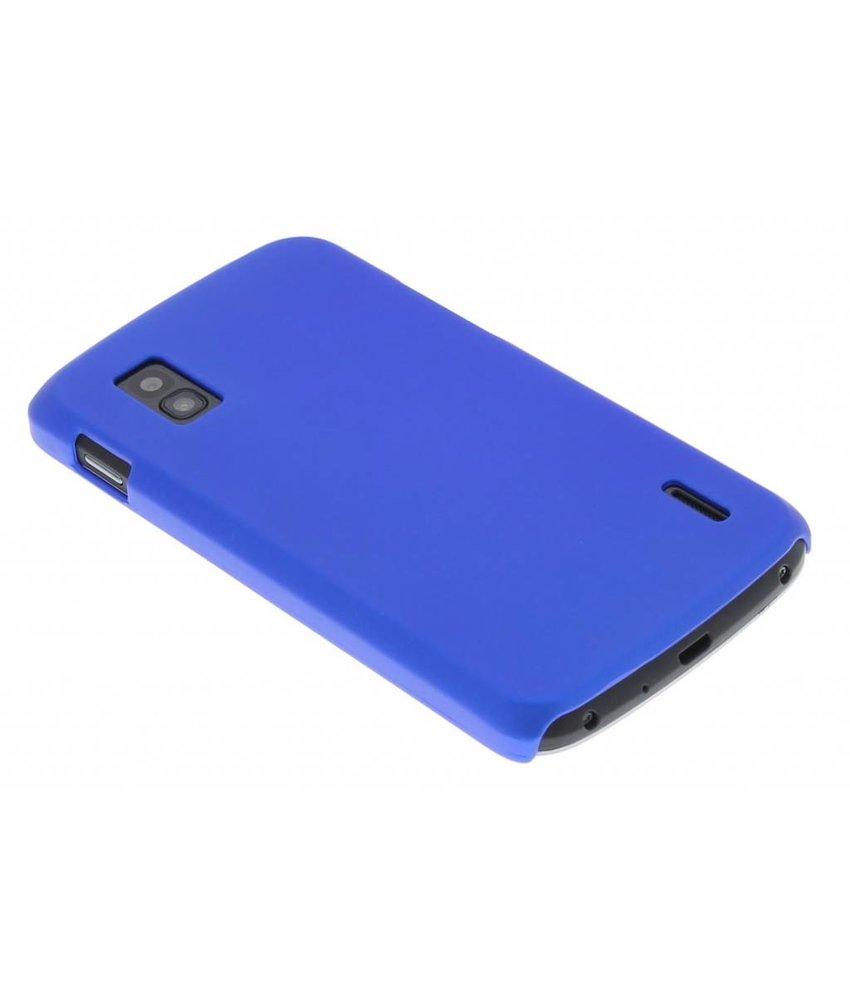 Blauw effen hardcase LG Nexus 4