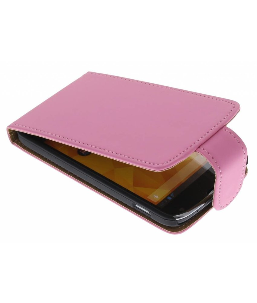 Roze classic flipcase LG Nexus 4