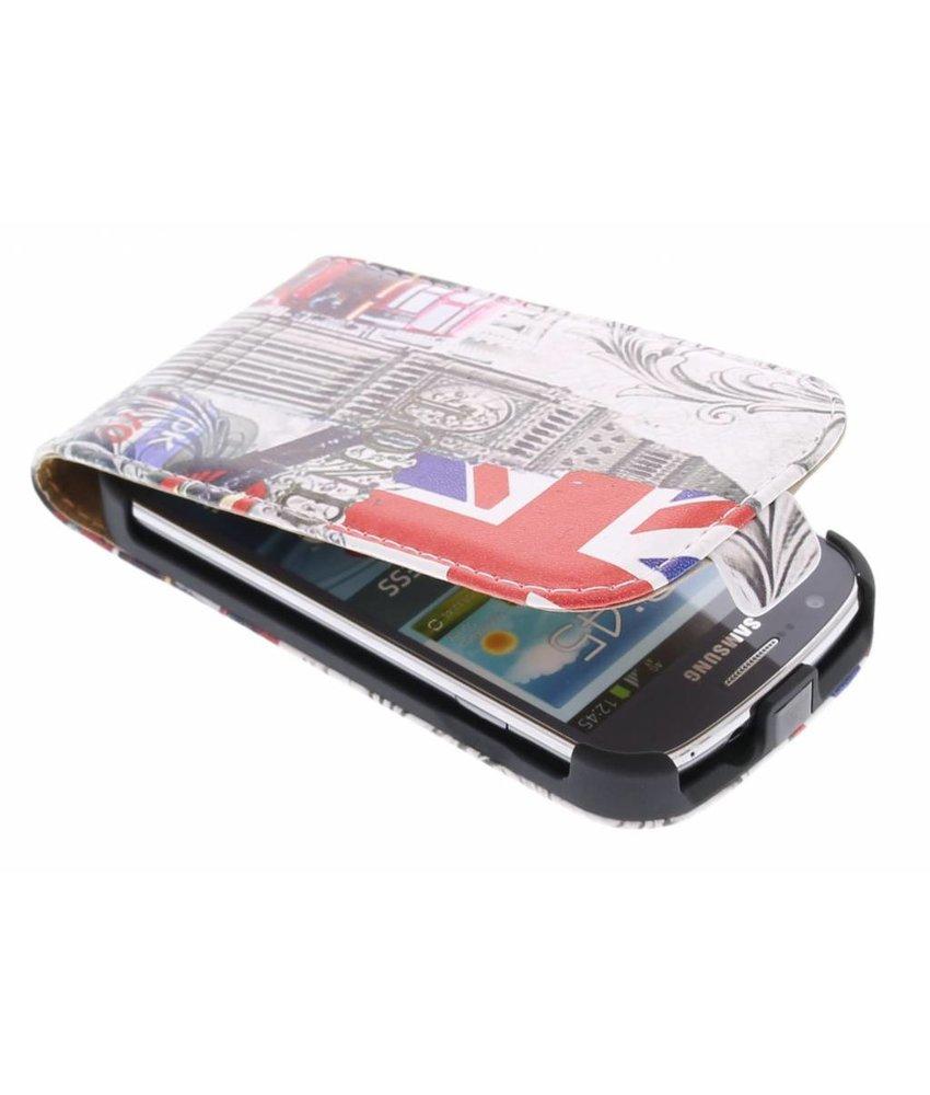 Londen design flipcase Samsung Galaxy Express