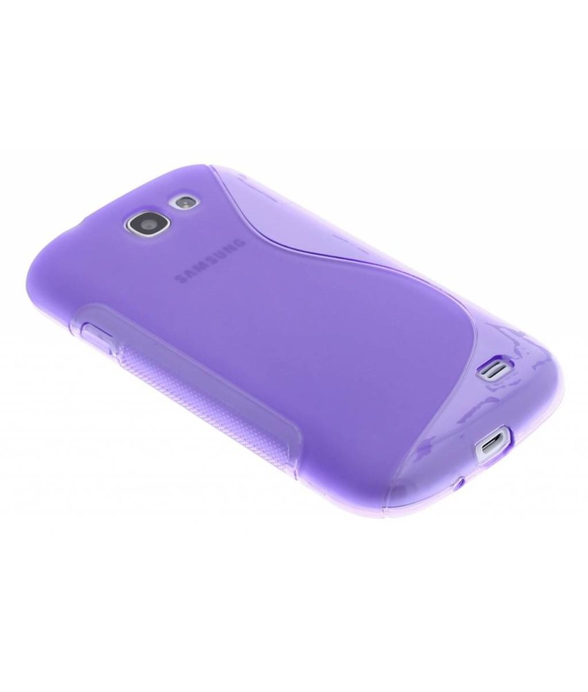 Paars S-line TPU hoesje Samsung Galaxy Express
