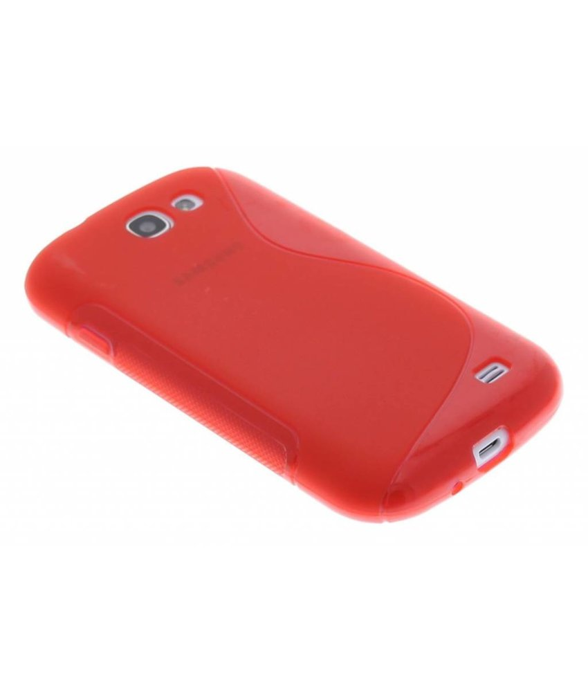 Rood S-line TPU hoesje Samsung Galaxy Express