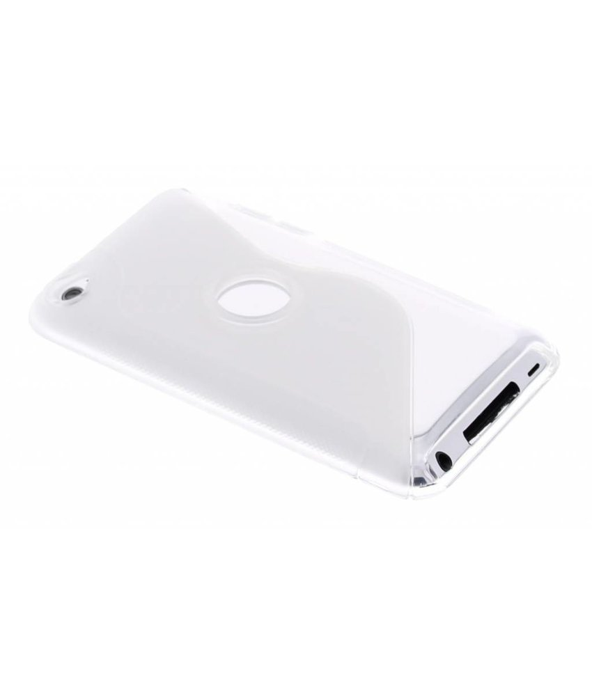 Transparant S-line TPU hoesje iPod Touch 4g