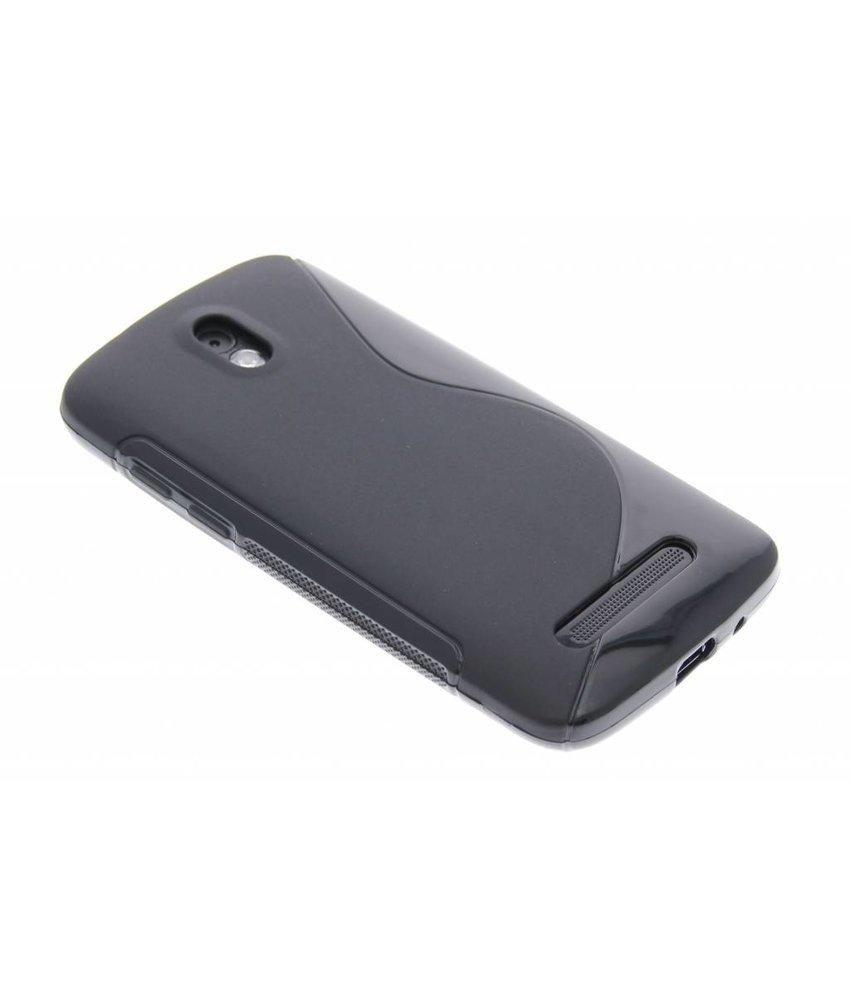 Zwart S-line TPU hoesje HTC Desire 500