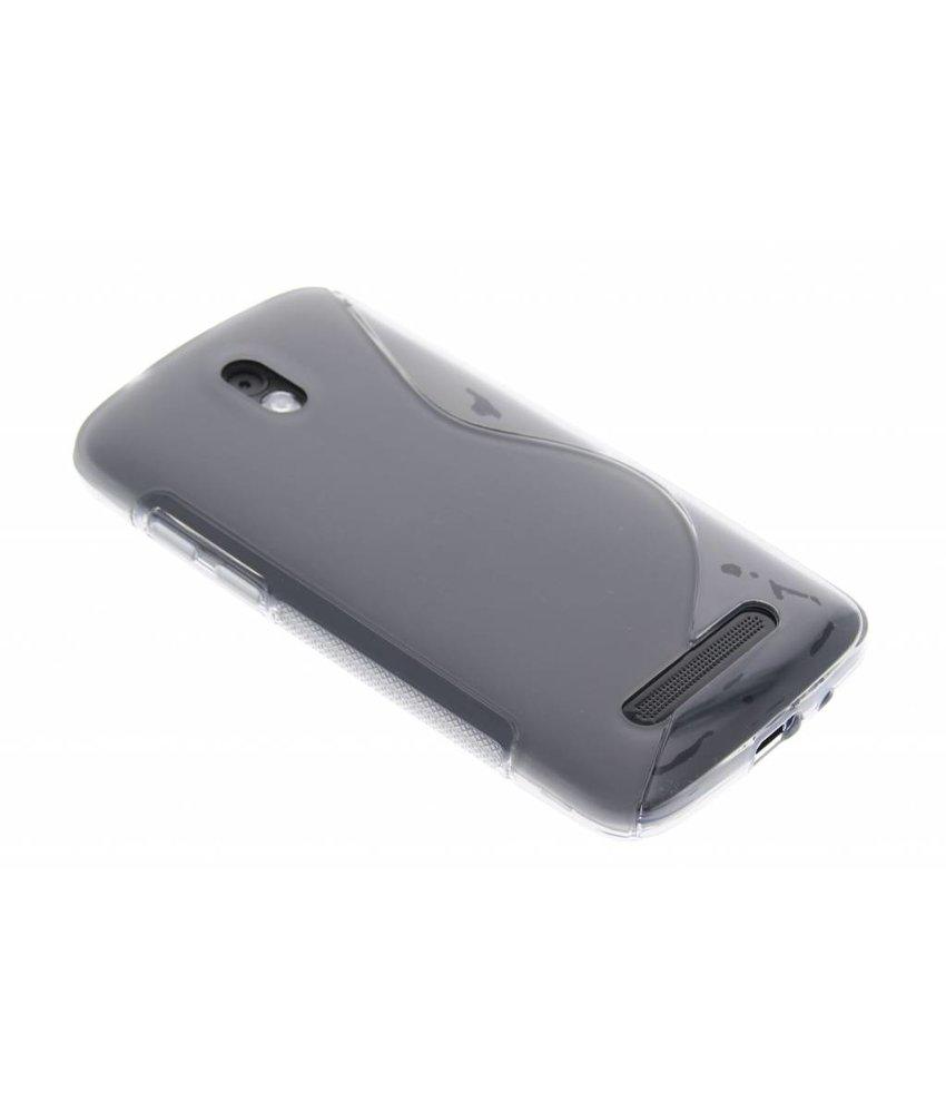 Grijs S-line TPU hoesje HTC Desire 500