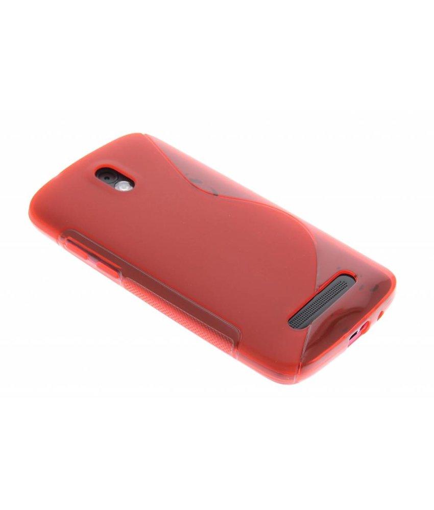 Rood S-line TPU hoesje HTC Desire 500