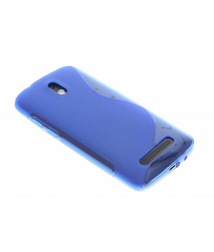 Blauw S-line TPU hoesje HTC Desire 500