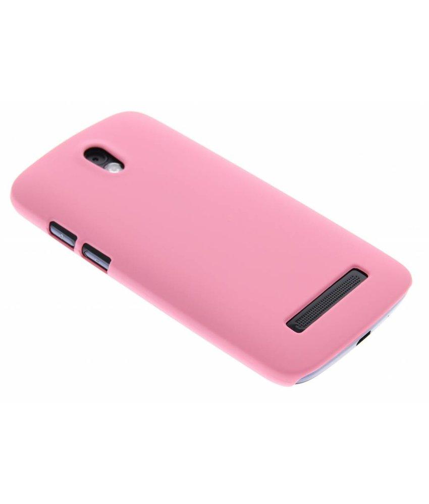 Roze effen hardcase HTC Desire 500