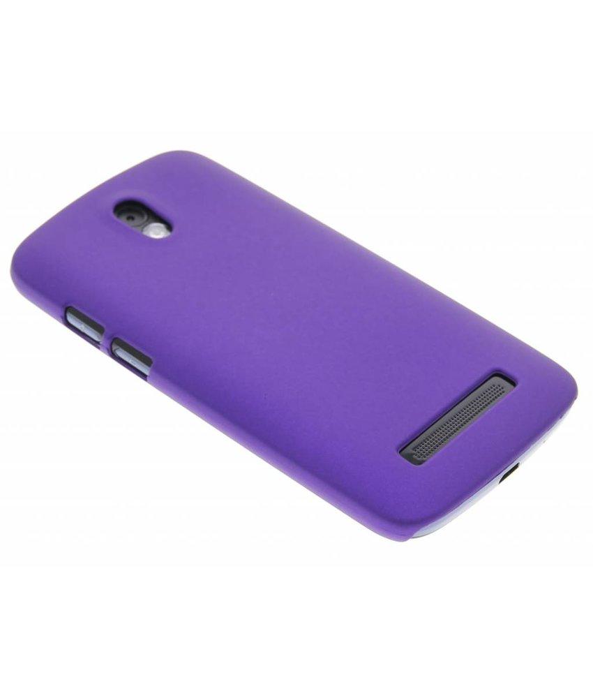Paars effen hardcase HTC Desire 500