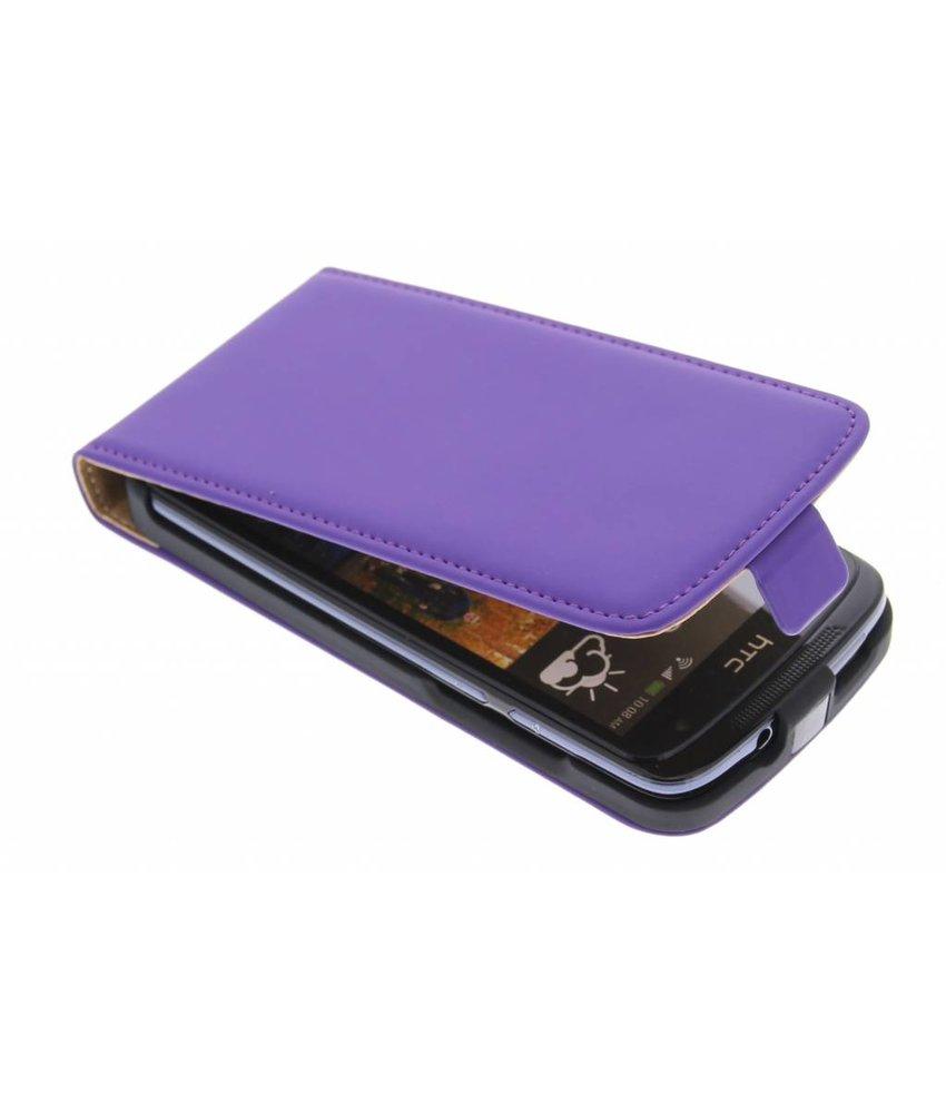 Mobiparts Premium flipcase HTC Desire 500 - Purple