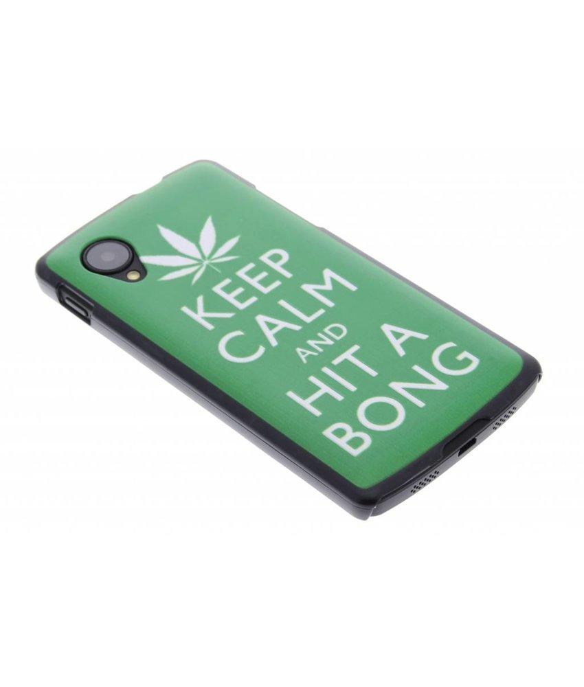 Keep Calm design mat hardcase hoesje voor de LG Nexus 5