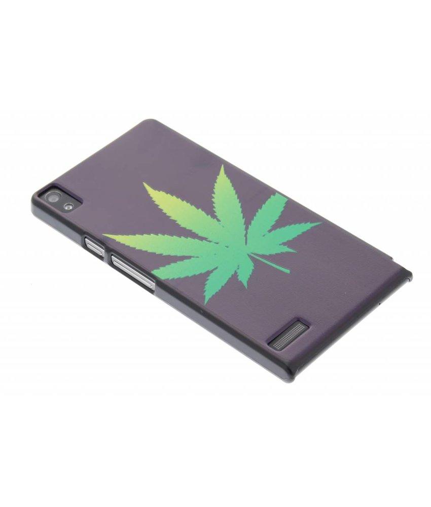 Cannabis design hardcase Huawei Ascend P6 / P6s