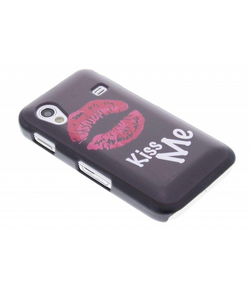 Kiss Me design hardcase hoesje Samsung Galaxy Ace