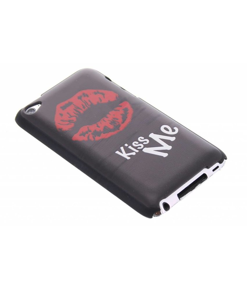 Kiss Me mat hardcase hoesje iPod Touch 4g