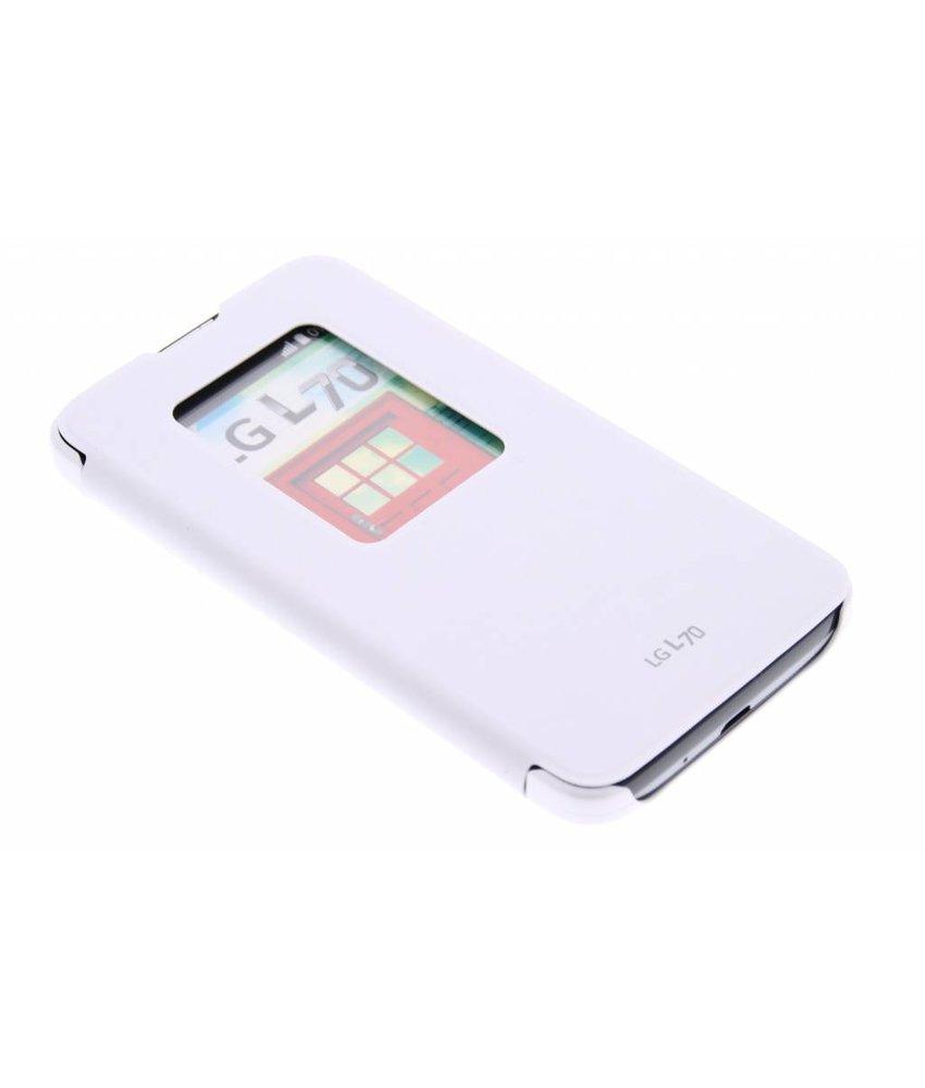 LG QuickWindow Case LG L70 / L65 - Wit
