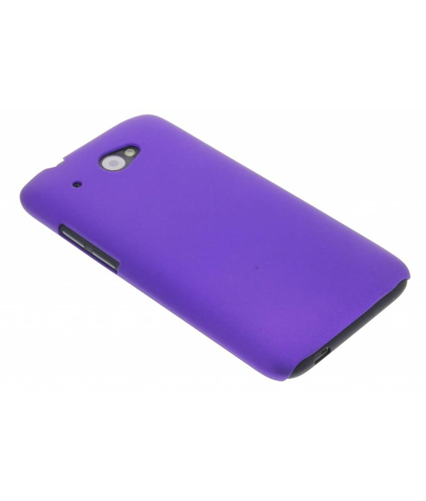 Paars effen hardcase HTC Desire 601
