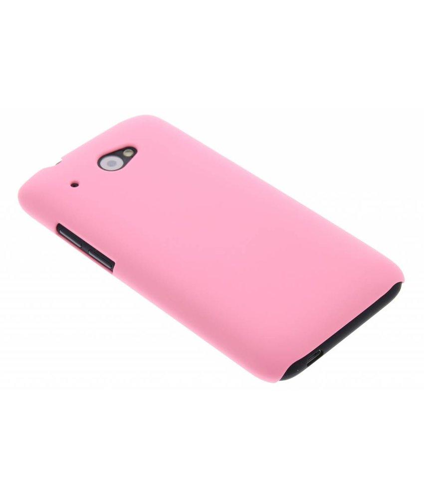 Roze effen hardcase HTC Desire 601