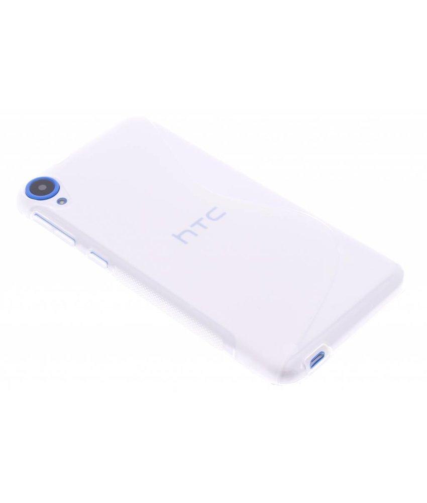 Transparant S-line TPU hoesje HTC Desire 820