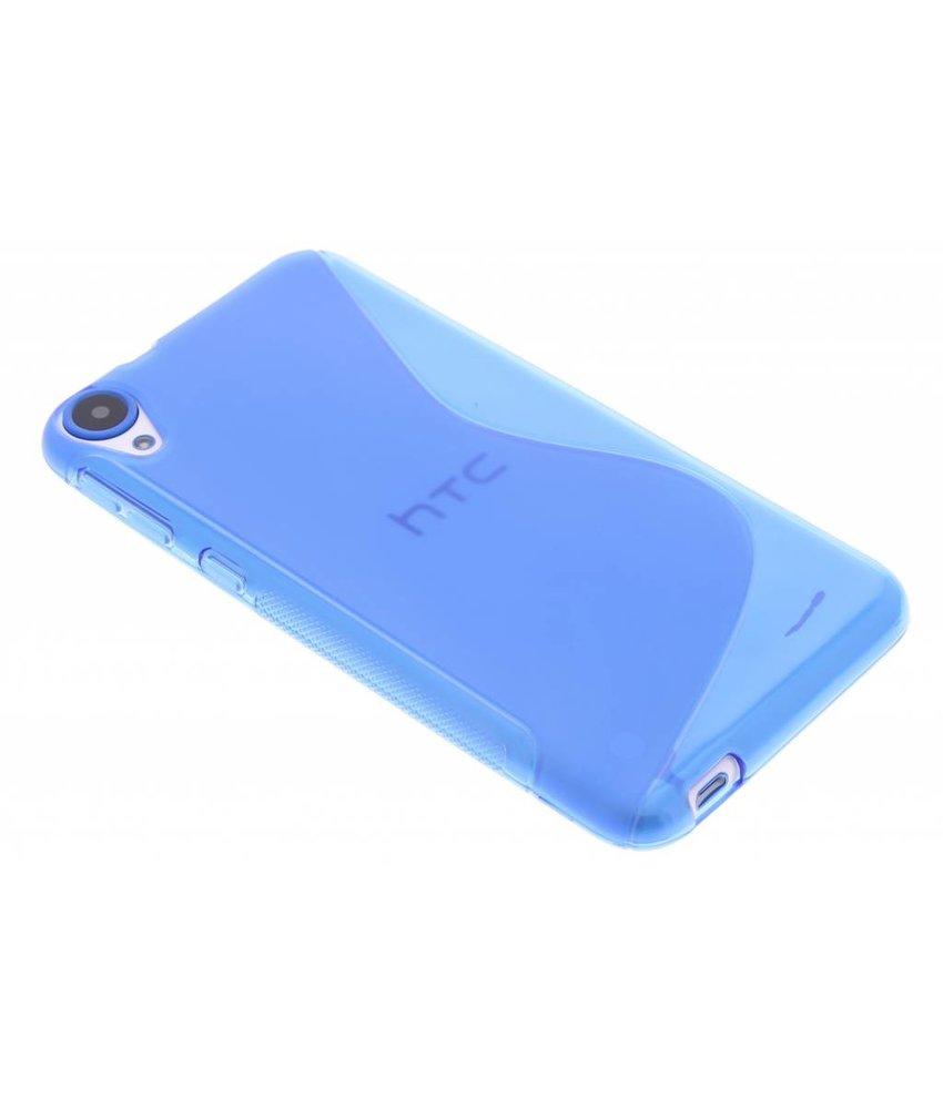 Blauw S-line TPU hoesje HTC Desire 820