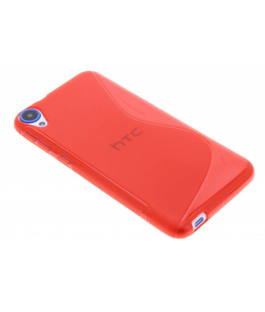 Rood S-line TPU hoesje HTC Desire 820