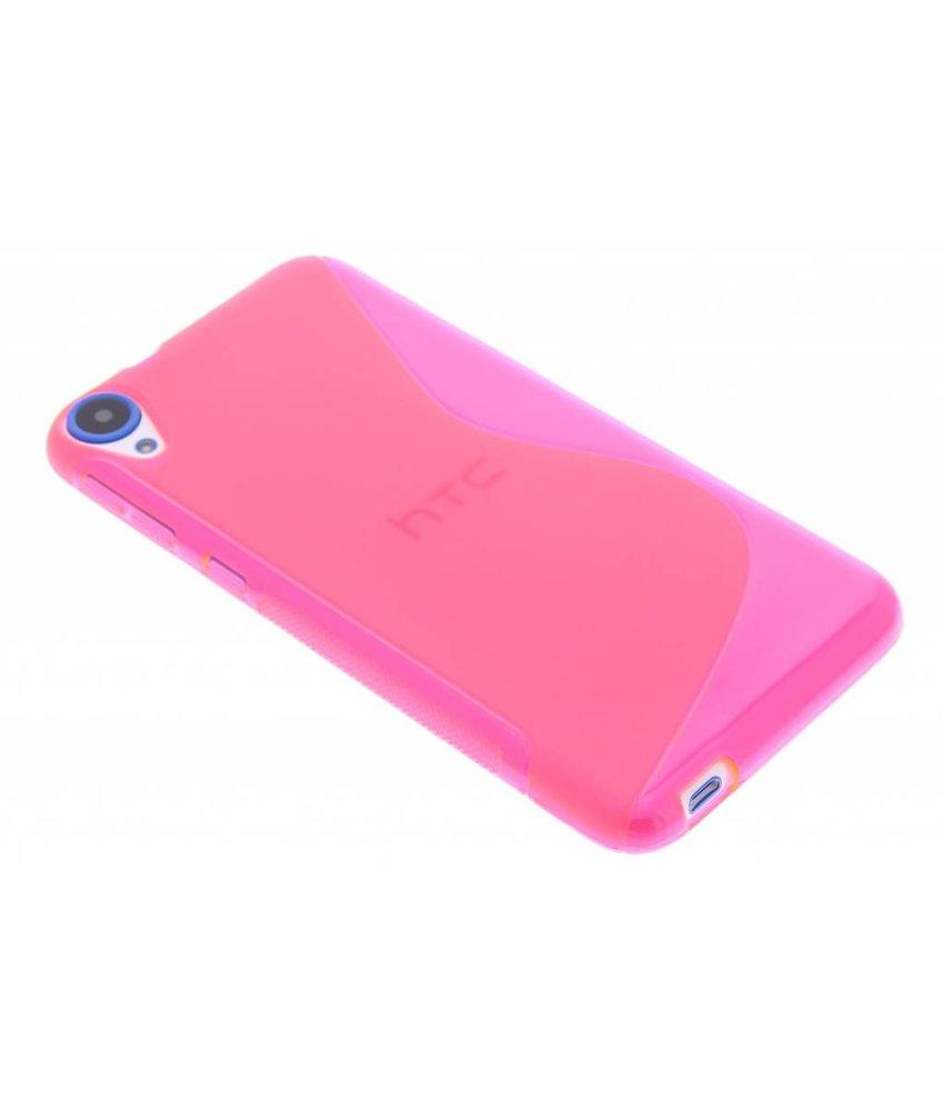 Rosé S-line TPU hoesje HTC Desire 820