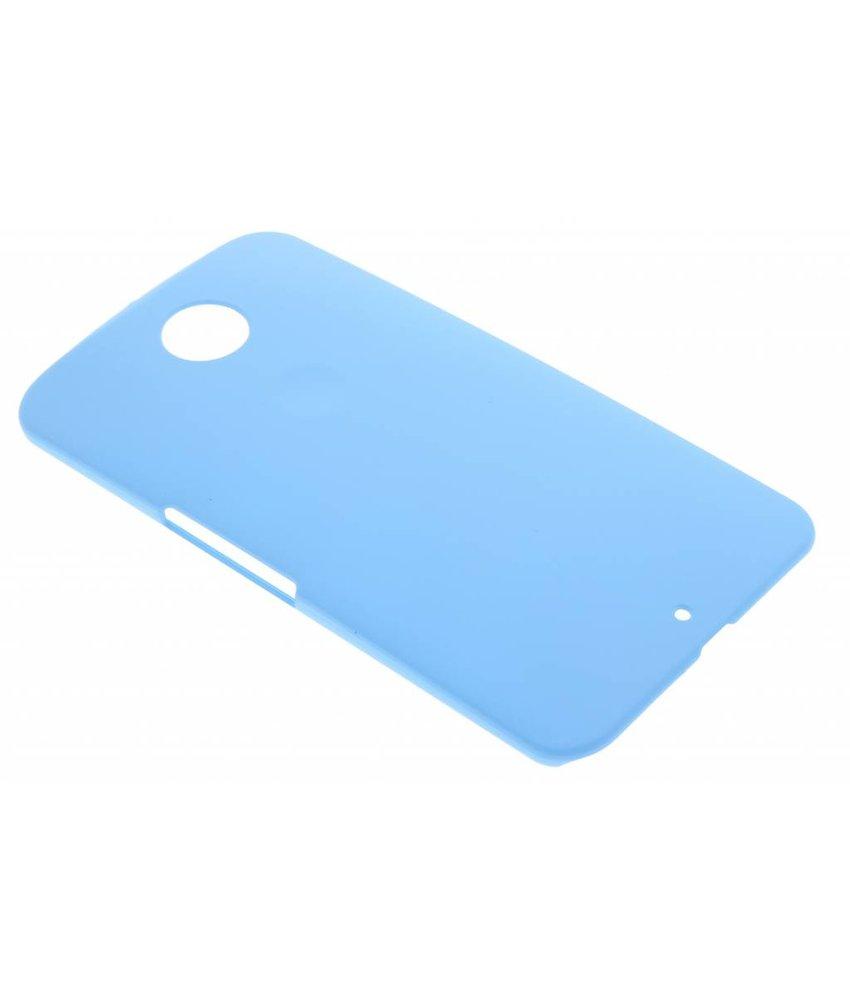 Turquoise effen hardcase hoesje Motorola Nexus 6