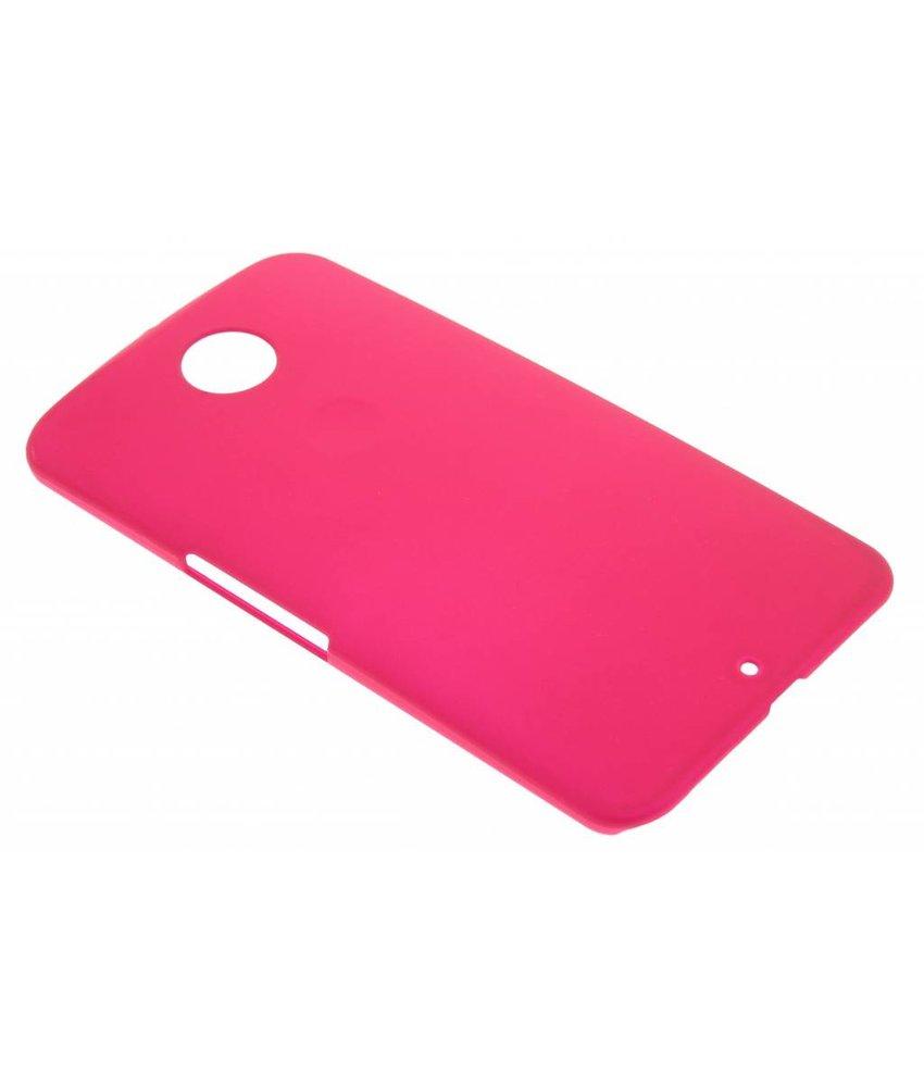 Fuchsia effen hardcase hoesje Motorola Nexus 6