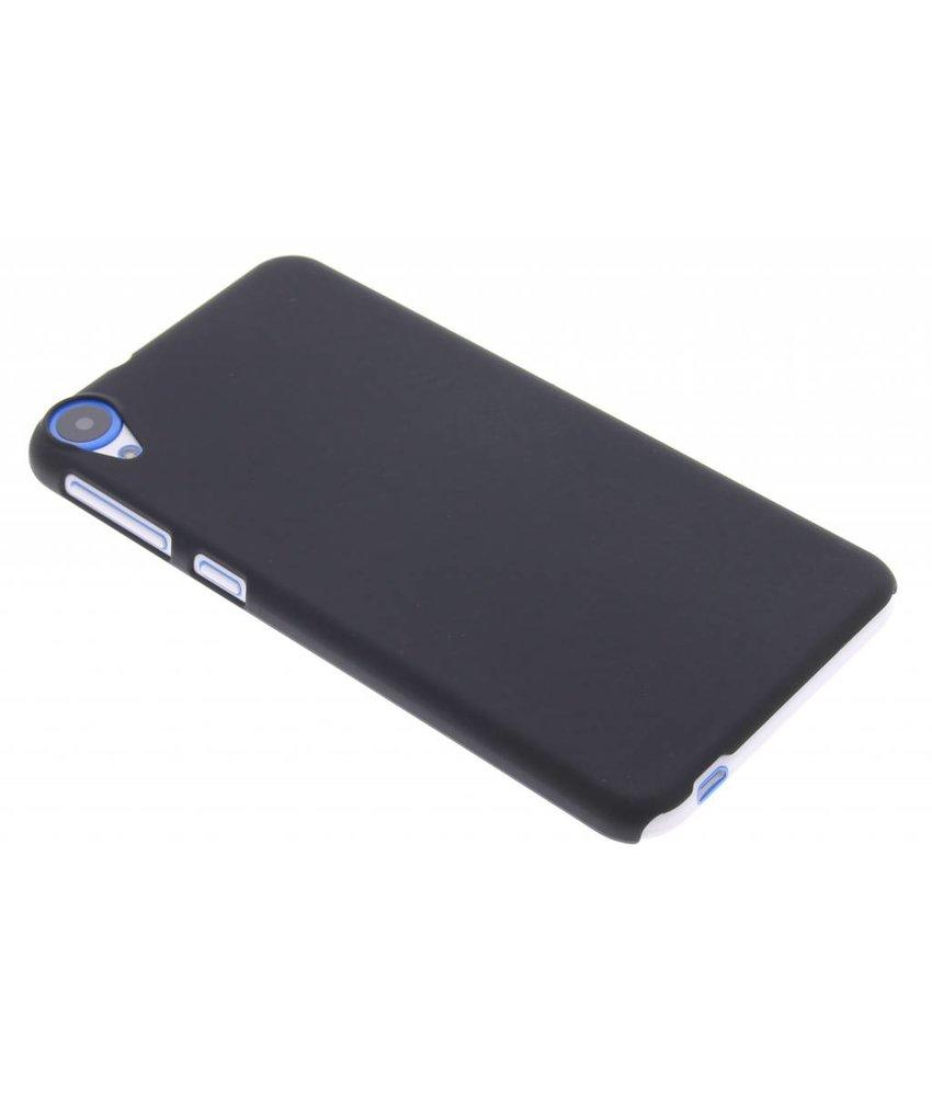 Zwart effen hardcase hoesje HTC Desire 820