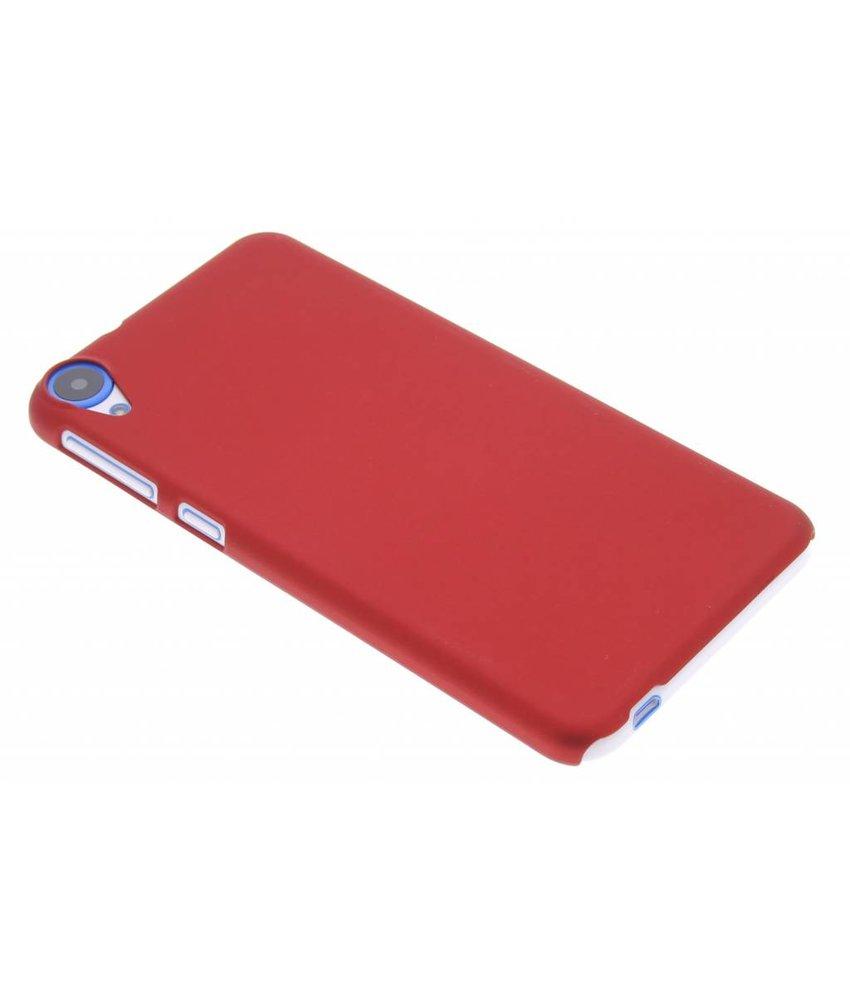 Rood effen hardcase hoesje HTC Desire 820