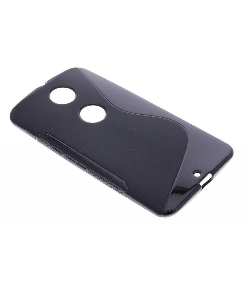 Zwart S-line TPU hoesje Motorola Nexus 6
