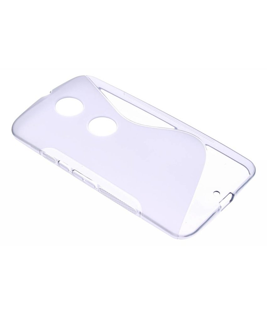 Grijs S-line TPU hoesje Motorola Nexus 6