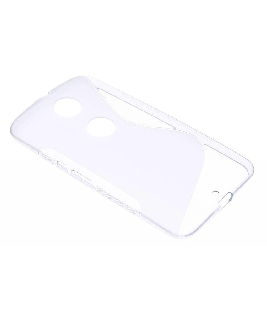 Transparant S-line TPU hoesje Motorola Nexus 6