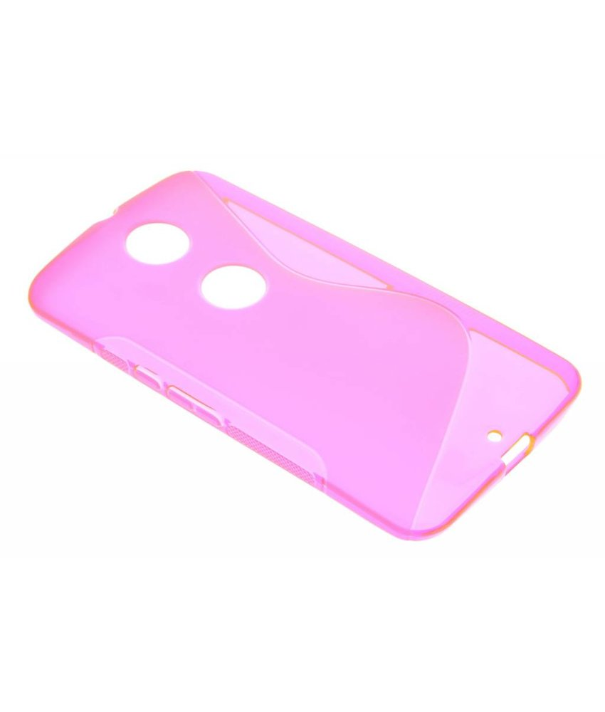 Rosé S-line TPU hoesje Motorola Nexus 6