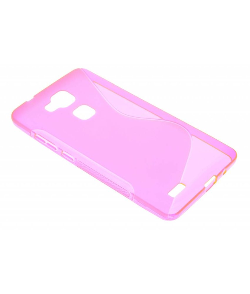 Rosé S-line TPU hoesje Huawei Ascend Mate 7