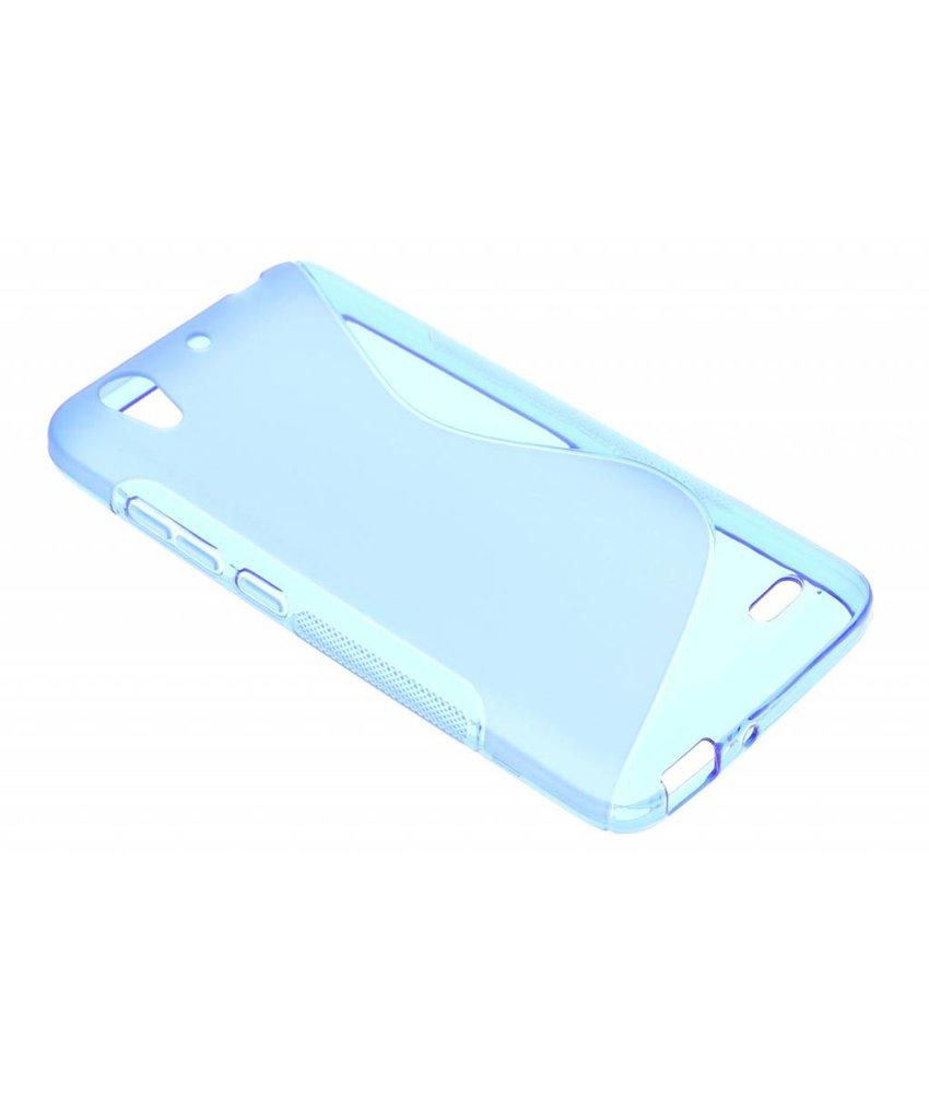 Blauw S-line TPU hoesje Huawei Ascend G630