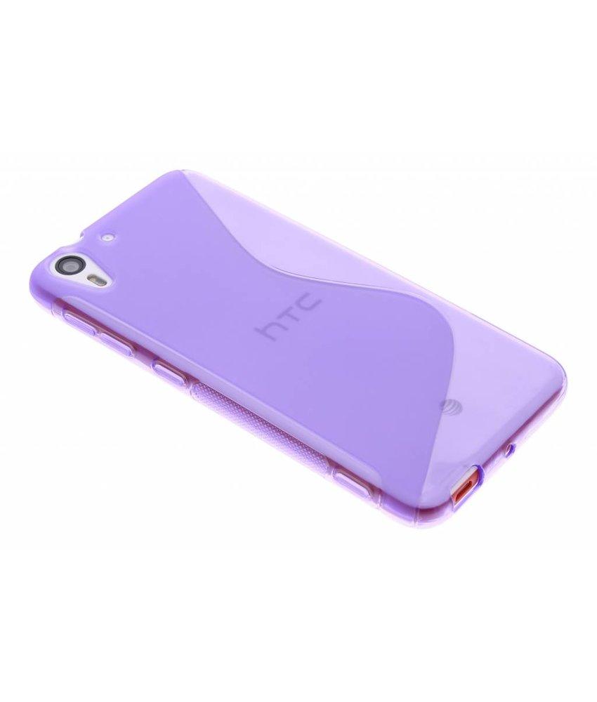Paars S-line TPU hoesje HTC Desire Eye
