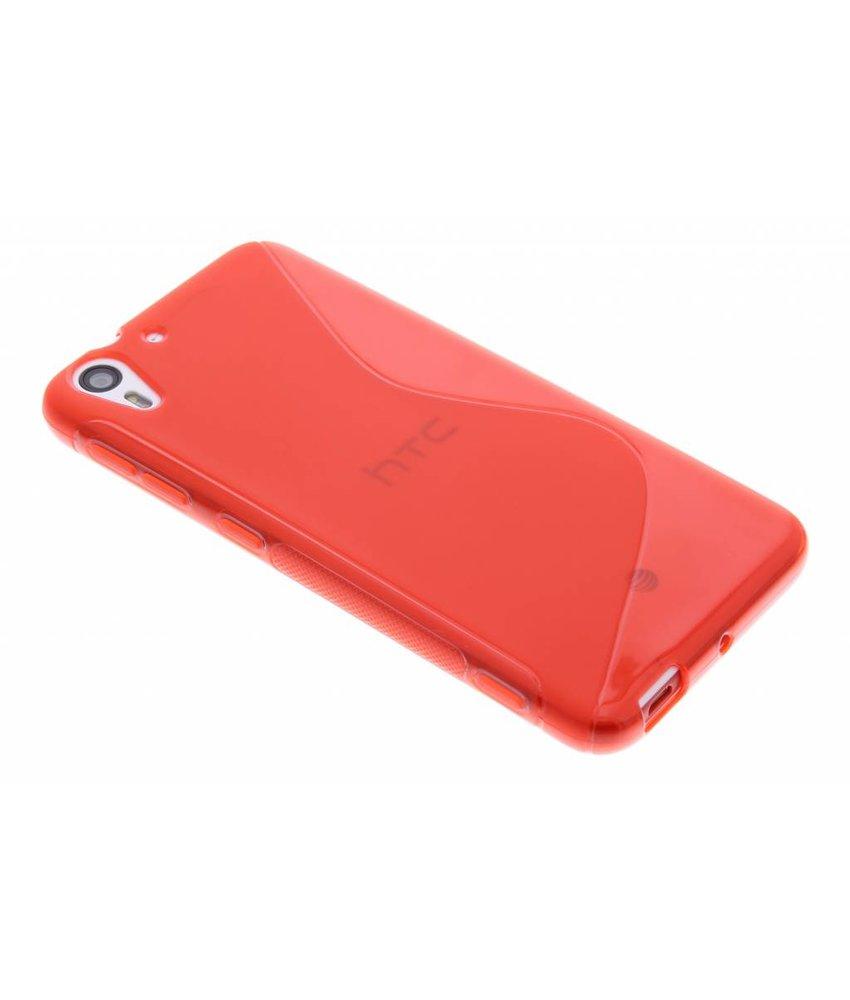 Rood S-line TPU hoesje HTC Desire Eye