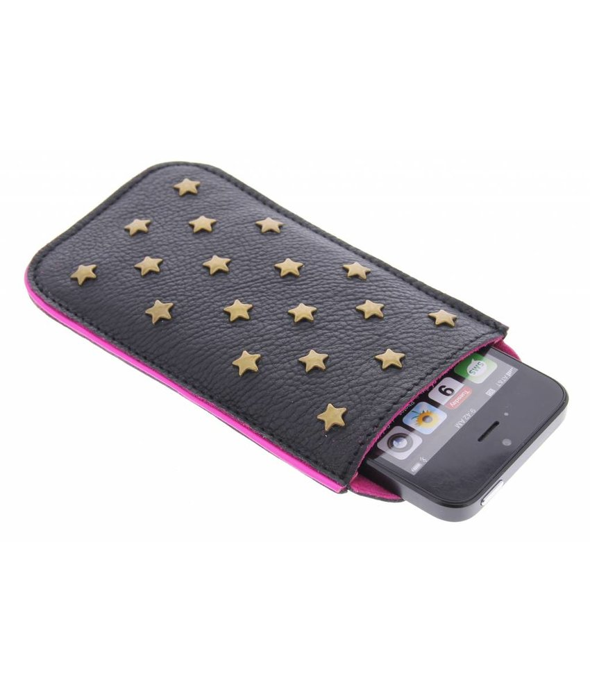 Fab. star studs phone cover iPhone 5 / 5s / SE - Natural Black