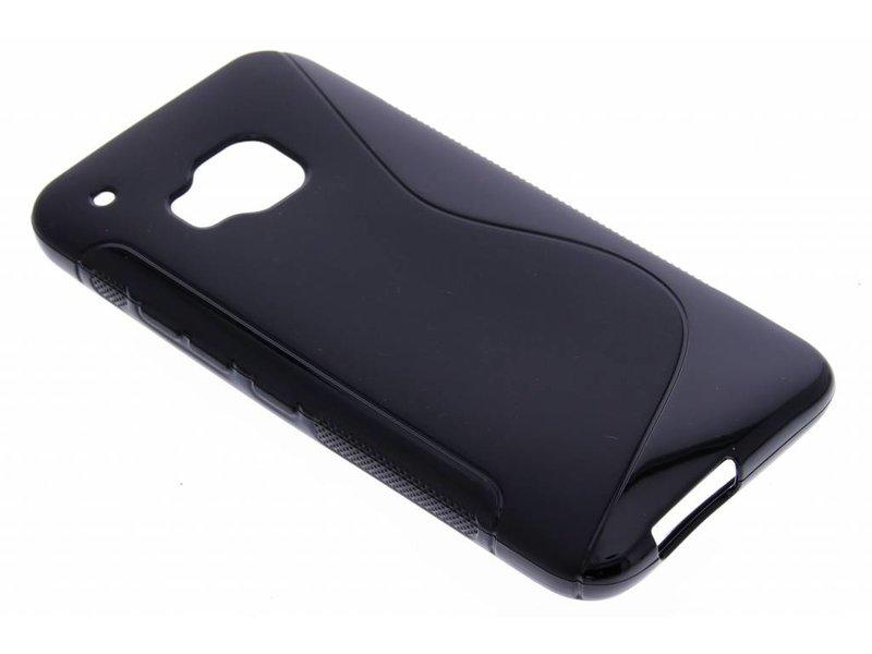 HTC One M9 hoesje - Zwart S-line TPU hoesje
