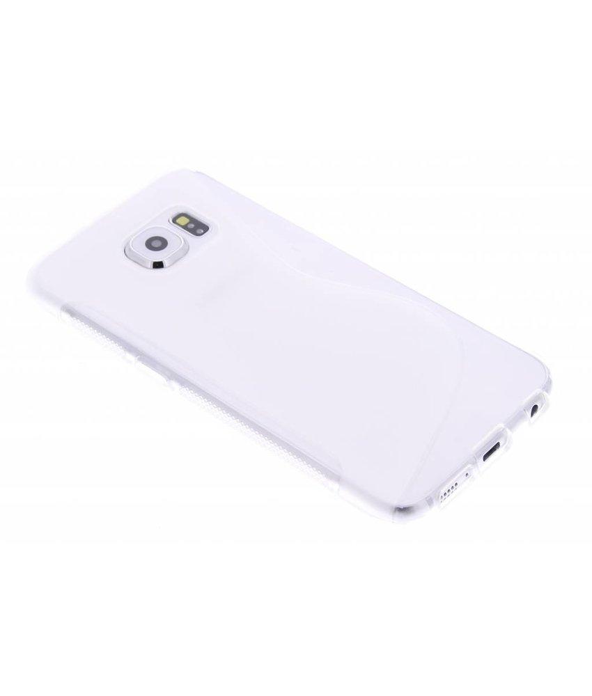 Transparant S-line TPU hoesje Samsung Galaxy S6