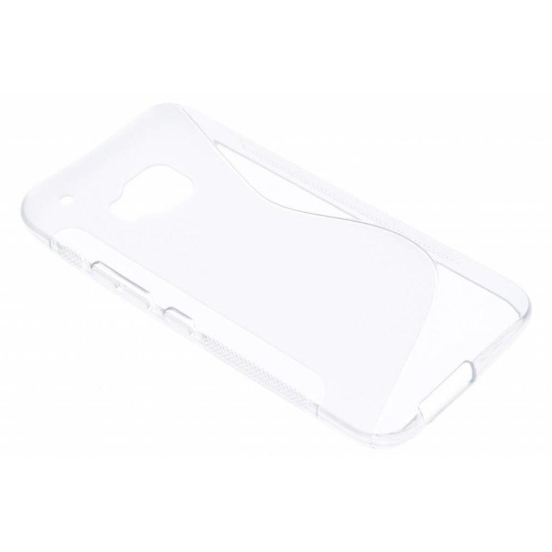 Transparant S-line TPU hoesje HTC One M9