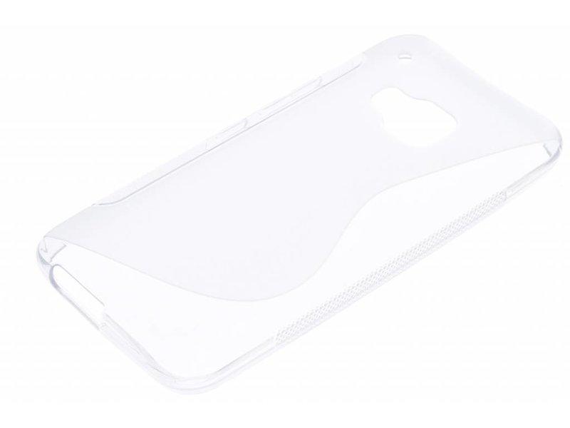 HTC One M9 hoesje - Transparant S-line TPU hoesje