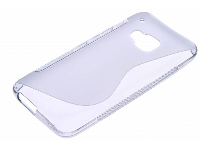 HTC One M9 hoesje - Grijs S-line TPU hoesje