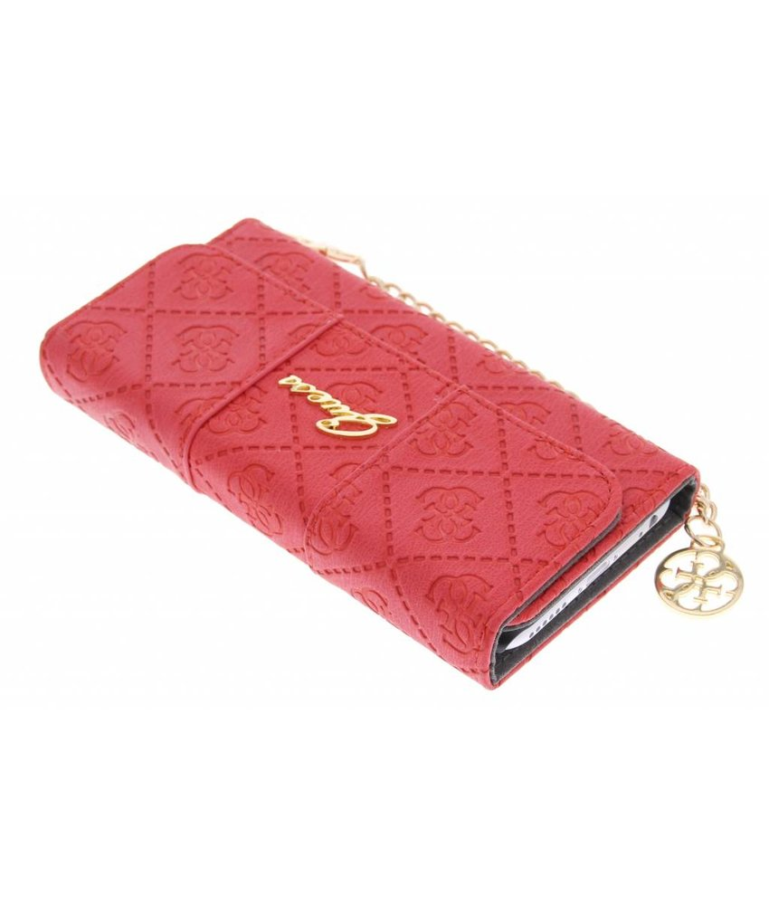 Guess Scarlett Clutch Case iPhone 6 / 6s - rood